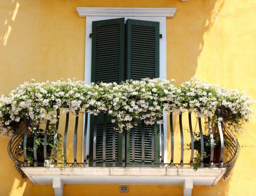 Balconi fioriti con Fertil Easy